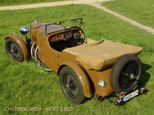 Aston Martin 1.5-litre International Le Mans 2/4-seater 1932