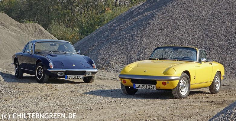 Lotus Elan S3 (166 - 1968) & Lotus +2 130 (1971 - 1974)