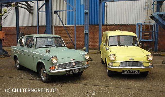 Ford Anglia 105E Saloon & Van (1959 - 1967)