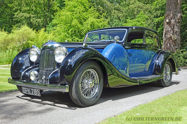 Lagonda V12 Short Chassis Sports Saloon (1938)