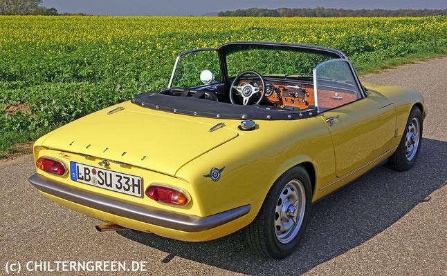 Lotus Elan S3 (166 - 1968)