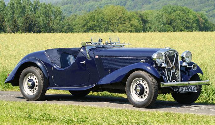 British Salmson S6D 20/90 hp (1935 - 1939)