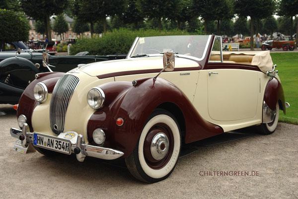 Lagonda 2.6-litre Drophead Coupé (1947 - 1953)