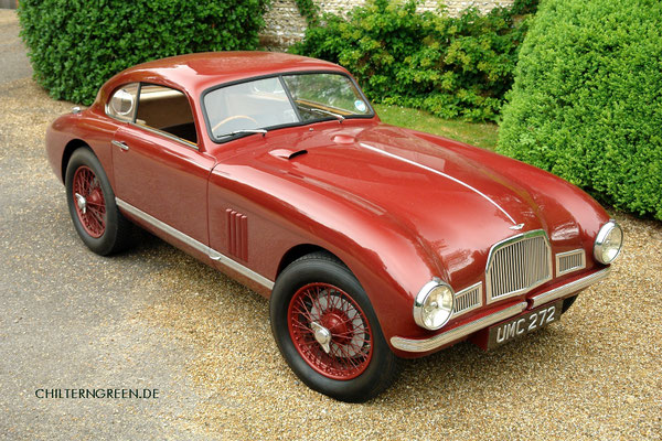 Aston Martin DB2 Sports Saloon Prototyp 1949