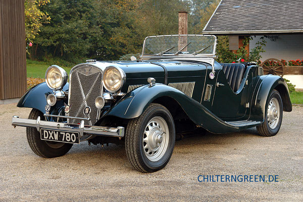 British Salmson 20/90 Two Seater Sports (1936 - 1939)