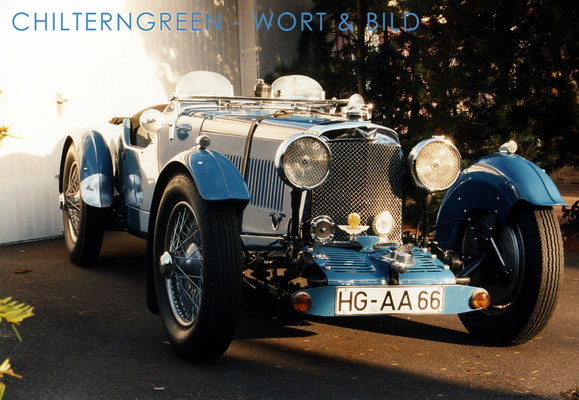 Aston Martin 1.5-litre (Series 2) Le Mans 2/4-seater 1933
