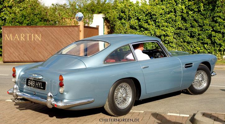 Aston Martin DB4 Saloon Serie 5 (1962 - 1963)