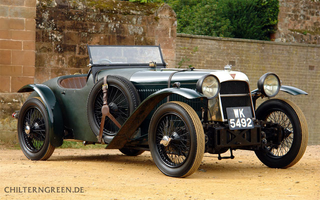 Alvis 1.5-litre FWD Works Team Car - 1928 Le Mans