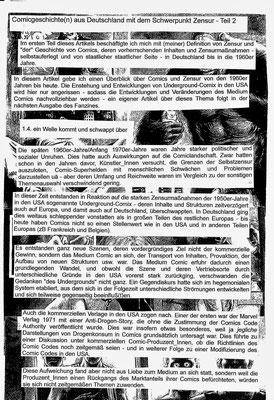 Comicgeschichte(n) 2, 1 (Black Frieda)