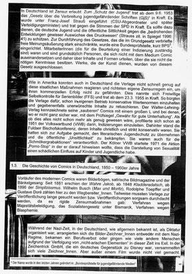 Comicgeschichte(n) 2 (Frieda)