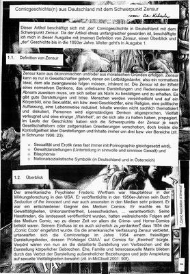 Comicgeschichte(n) 1 (Frieda)
