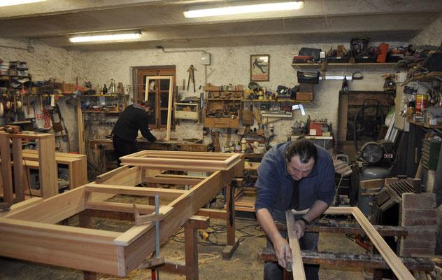 Werkstatt im ehemaligen Pferdestall