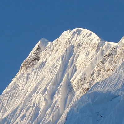 Annapurna im Morgenlicht