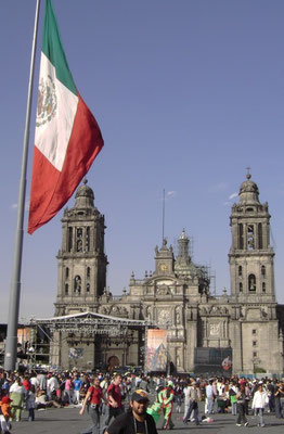 Zocalo - Mexiko City