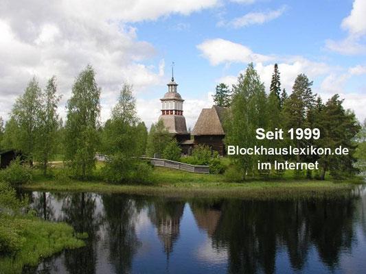 Blockhaus - Blockhausbau Tradition - Kanada - Finnland - Polen - Rußland - Deutschland