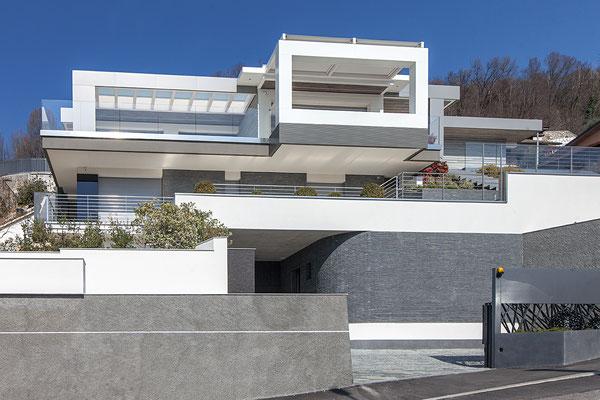 Villa Gotti fronte