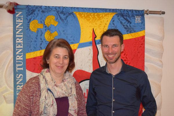 Neu dürfen wir begrüssen: Gabi Kuza (Leiterin KiTu) und Michael Röthlin (Leiter Vaki)