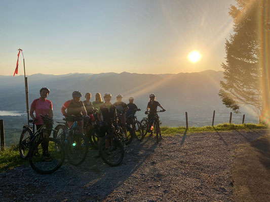 Die Gruppe e-Bike