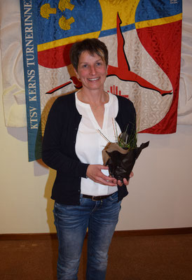 10 Jahre Vereinstreue: Claudia Waldvogel