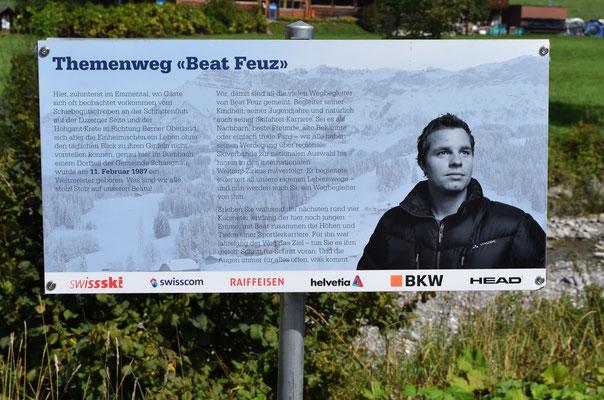 Auf dem Beat Feuz Weg