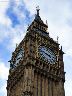 St. Elisabeth Tower in London - kurz: Big Ben