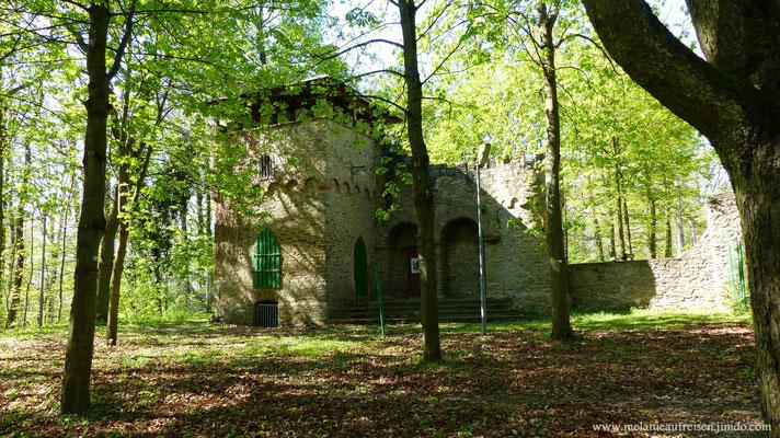 Die Kippenburg - zu sehen auf dem Spessartweg