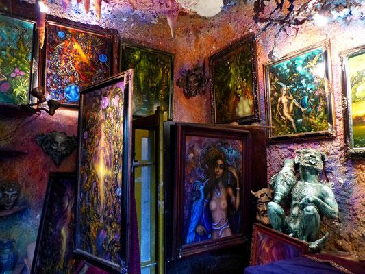 Künstlergalerie in Prag (vom Petri den Fußweg nehmend)
