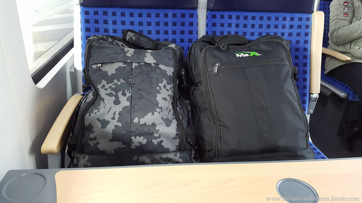 Cabin-Max Rucksäcke - Leichtgewichte mit Ryan-Air Maßen - einfach top!