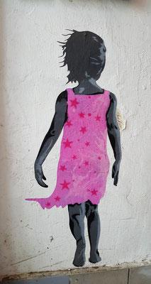 """Streetart im Kölner Museum """"KUNSt&So"""" im beglischen Viertel"""