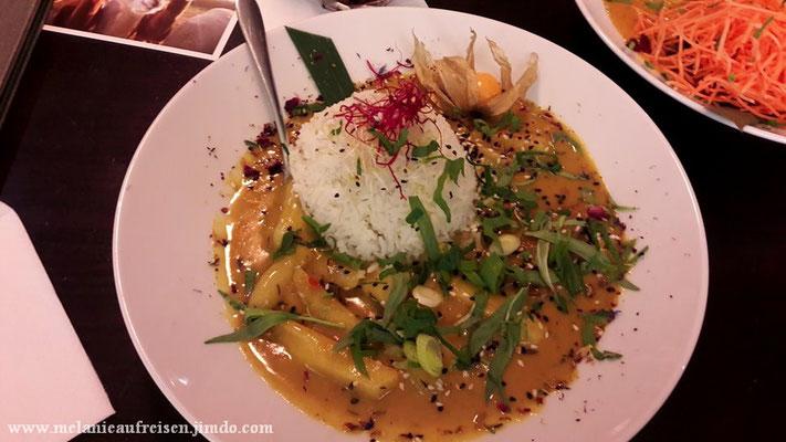 Bananen-Curry mit Reis