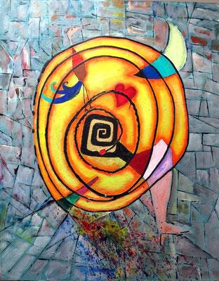 Energiespirale - Acryl