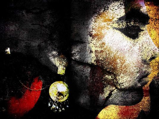 KW 04: Inspiriert durch das Buch Siddhartha: Seine Beziehung  zu einer Kurtisane - Bild bearbeitet