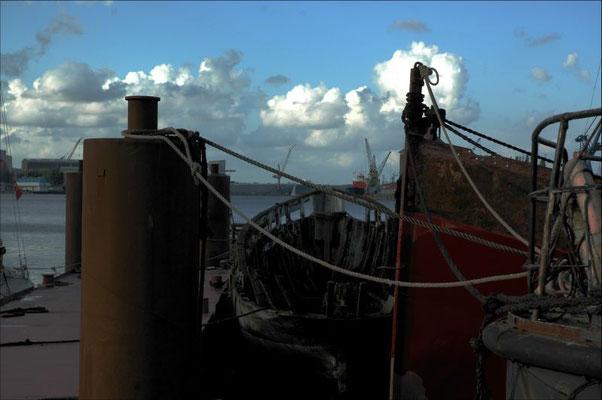 Der kleine Schiffsfriedhof