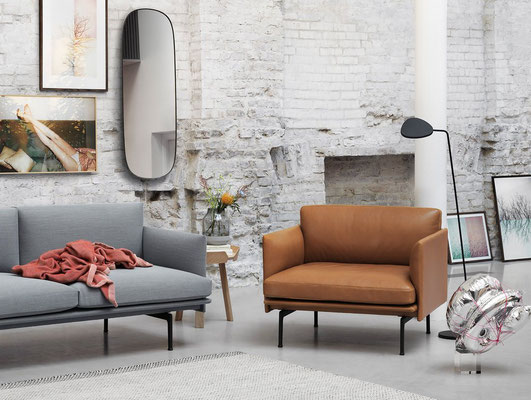 Fauteuil Outline Muuto