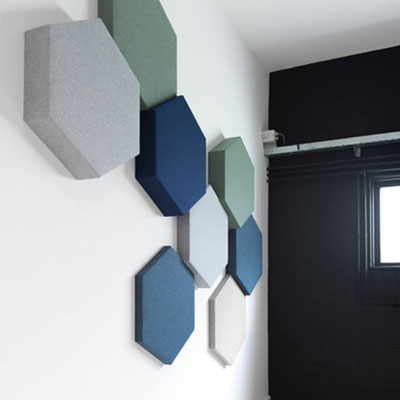 Solution acoustique murale BuzziBlox BuzziSpace