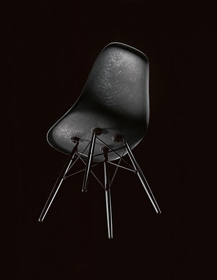 Vitra Eames Fiberglass Chair Raw Umber