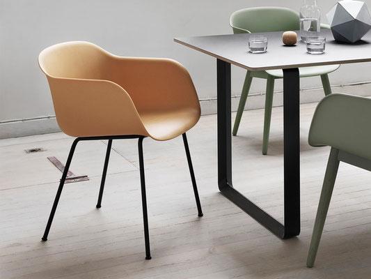 Chaise design scandinave Fiber Armchair Muuto