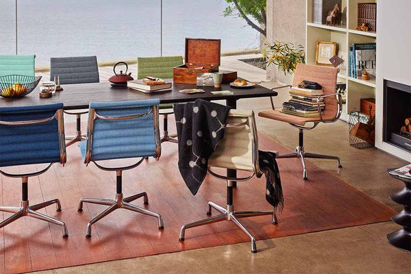 Chaise Eames Aluminium Chair Vitra