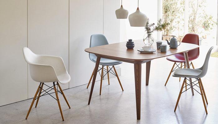 Chaise Eames Plastic Armchair Vitra