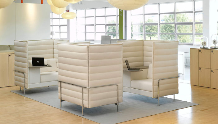 Mobilier Lounge Alcove Vitra
