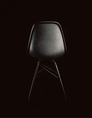 Vitra Eames Fiberglass Chair Raw Umber_back