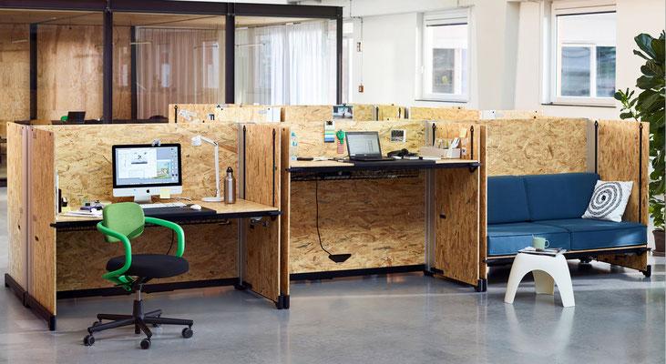 Table de bureau réglable en hauteur HACK Vitra