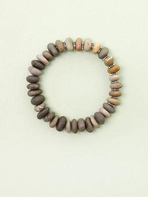 Steine aus den Flüssen Töss und Sitter gemischt: «Feuerwerk»