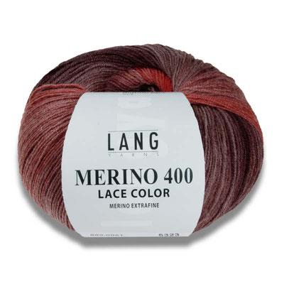 Merino 400 Lace Color von Lang Yarns 50 gramm 7,85€