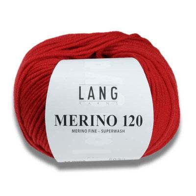 Merino 120 von Lang Yarns 50 gramm 5,45€