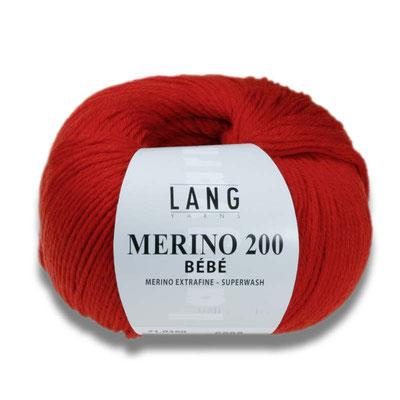 Merino 200 Bebe von Lang Yarns 50 gramm 5,45€
