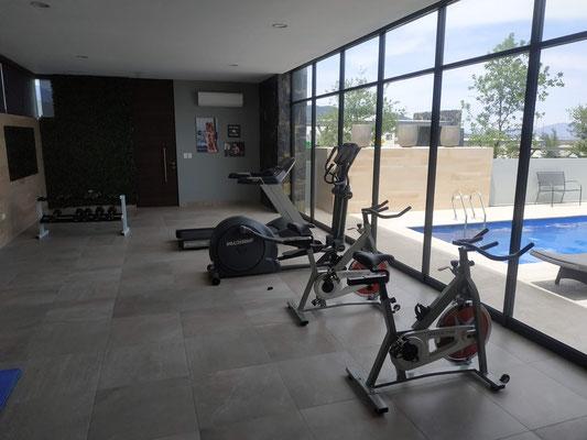 Gym equipado, Cumbres Lux, Dominio Cumbres Nuevo Leon, casas en venta