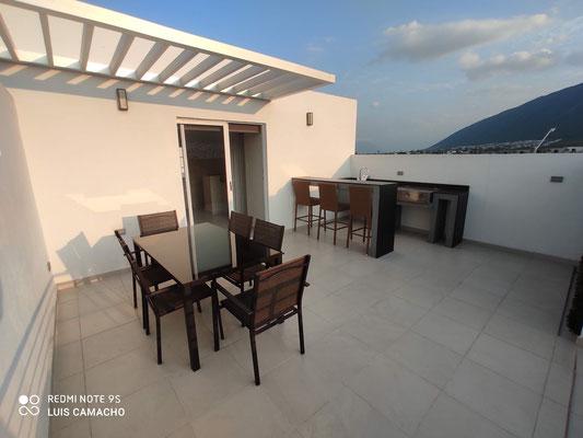 foto 2 terraza 1  casa modelo Verona Brianzzas Residencial en Escobedo Nuevo Leon
