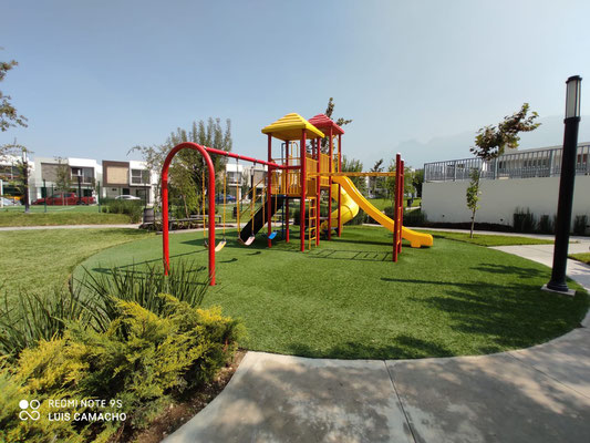 juegos infantiles de arezzo residencial cerrada sibari en dominio cumbres