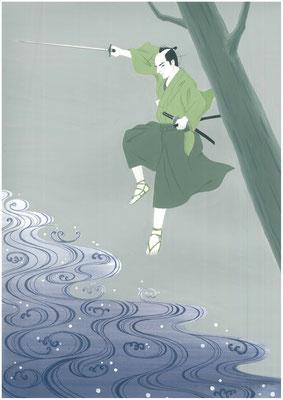 「隠し剣秋風抄 暗黒剣千鳥」藤沢周平、オリジナル2016